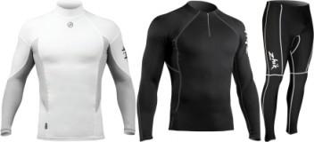 Rash- / Stretchbekleidung mit UV-Schutz