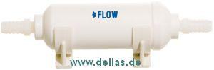 Inline Wasserfilter mit Aktivkohle