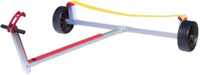 OPTIPARTS Slipwagen, kleine durchschlagsicherer Räder, Gurtauflage