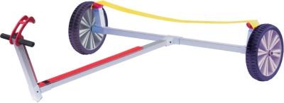 OPTIPARTS Slipwagen, große durchschlagsicherer Räder, Gurtauflage
