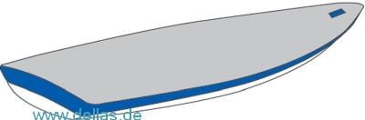 Flachpersenning WinDesign Economy grau Laser