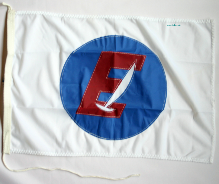Klassenflaggen Europe einseitig genäht