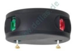 Aqua Signal LED Zweifarbenlaterne Serie 34 Schwarzes oder weißes Gehäuse bzw. Aluminium