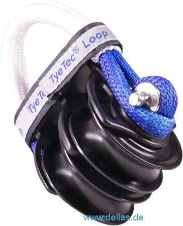 TyeTec® Gleitlager Doppelblock – CODE BLUE