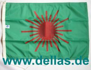 Klassenflaggen Laser Radial einseitig gedruckt