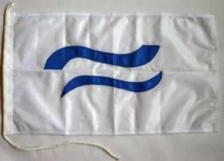 Klassenflagge Finn beidseitig genäht