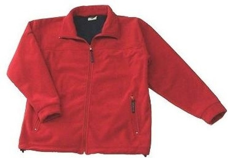 Dry Fashion Fleece Jacke Rot Gr. 3XL