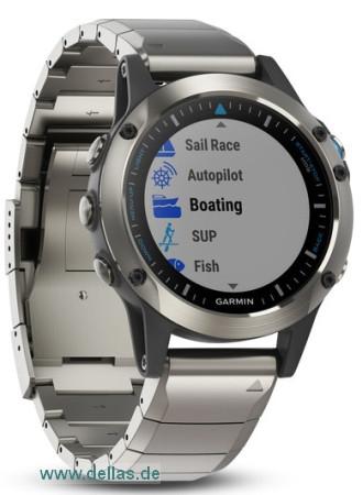 GARMIN QUATIX 5 SAPHIR Wassersport Smartwatch