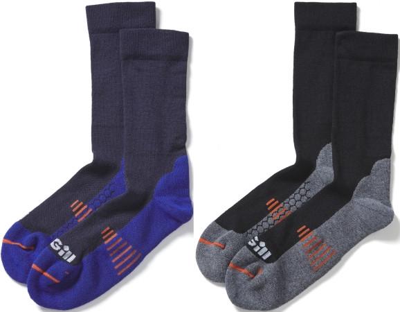 GILL Midweight Socks – Mittelschwere Socken Navy oder Schwarz