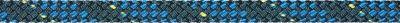 Liros Regatta 2000 mit Dyneema®SK78 Kern 4 mm / Stahlblau, blauer Kennfaden