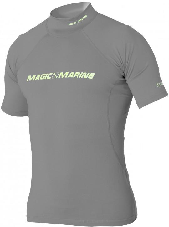 Magic Marine Cube Rash Shirt kurzärmlig Grau