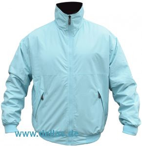 MUSTO SNUG BLOUSON Jacket Pale Blue/Ink Größe S