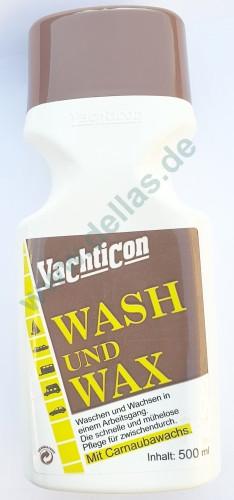 Yachticon Wash und Wax 500 ml