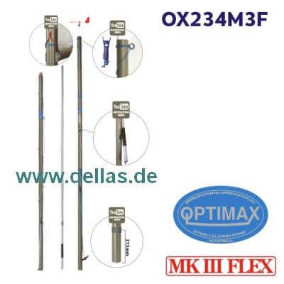 OPTIMAX MK3 FLEX Rigg komplett