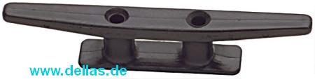 Belegklampe Kunststoff eckige Form Schwarz