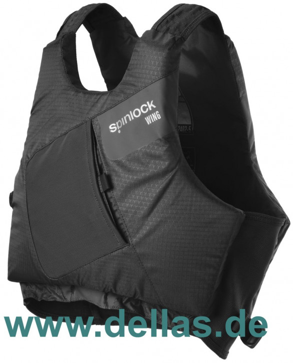 Spinlock PFD Wing Regattaschwimmweste Schwarz