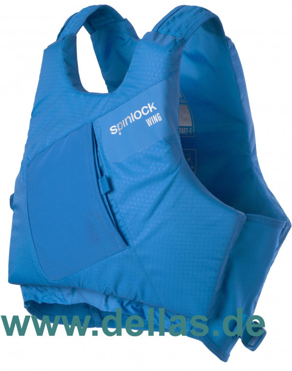 Spinlock PFD Wing Regattaschwimmweste Blau