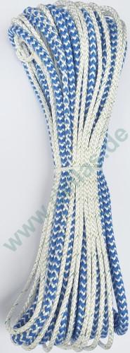 Spi Schot 20 m aus Liros Dyneema Spischot blau/weiß 505er endlos