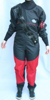 Dry Fashion Trockenanzug Profi-Regatta, Neo-Manschetten, Füßlinge Größe XS