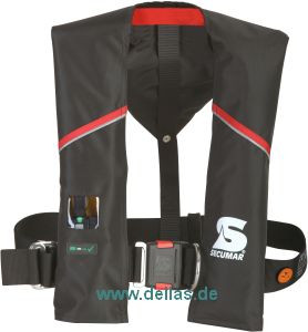 SECUMAR ULTRA AX 150 Harness Automatik Rettungsweste 150N