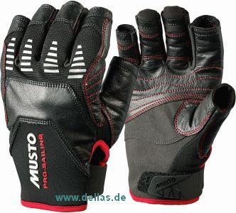 Segelhandschuhe MUSTO EVO Gloves, 5 Finger geschnitten