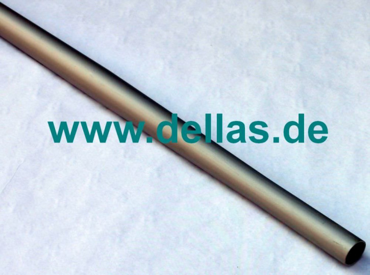 Beidseitig verjüngtes Alurohr 40 mm auf 25 mm 156,7 cm lang