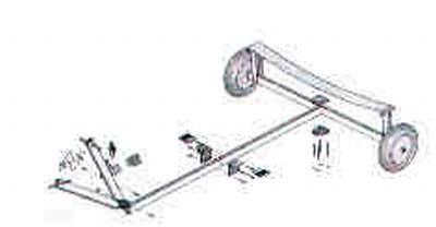 Aluminium Slipwagen PRACTIC