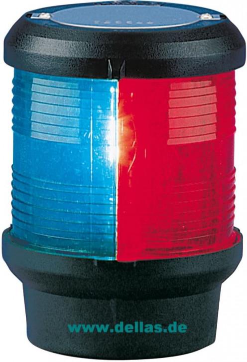 Kombilaterne Dreifarbenlaterne - Tricolor zum Festanbau, 12 Volt