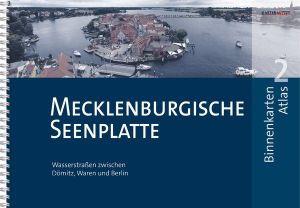 Mecklenburgische Seenplatte BINNENKARTEN ATLAS 2