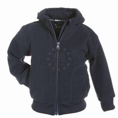 Kinder Fleece Jacke Antarctic-Fleece Kapuzenjacke