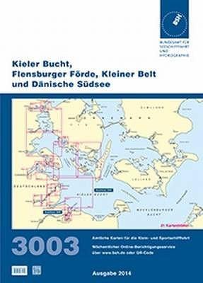 BSH Sportbootkarte 3003, aktuelle Ausgabe