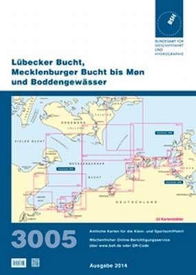 BSH Sportbootkarte 3005, aktuelle Ausgabe