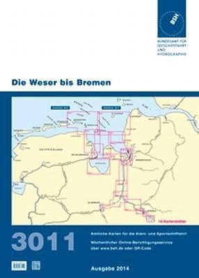 BSH Sportbootkarte 3011, aktuelle Ausgabe