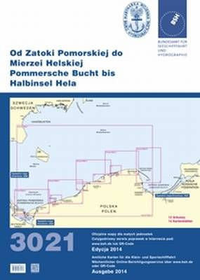 BSH Sportbootkarte 3021, aktuelle Ausgabe