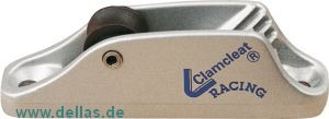 Clamcleat® mit Rollenleitöse 3 - 6 mm