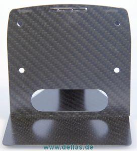 Carbon-Deckshalterung für Kompass Tacktick Micro