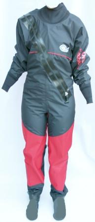 Dry Fashion Trockenanzug Profi-Regatta, Neo-Manschetten, Füßlinge 164
