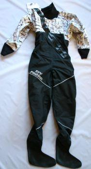 Dry Fashion Trockenanzug Profi-Regatta, Neo-Manschetten, Füßlinge Größe 158