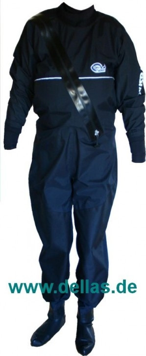 Dry Fashion Trockenanzug Schöller® Hightech Material, Neo-Manschetten, Latex-Füßlinge