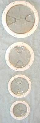 Inspektionsdeckel, transparent, 102mm
