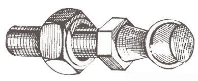 Stahlkugeln für die Montage von Gasdruckfeder