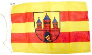 Flagge Oldenburg Stadt mit Wappen