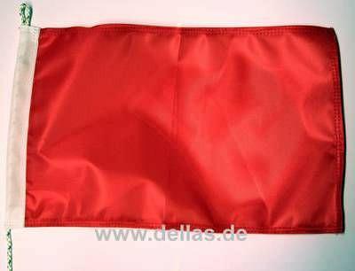 Flagge UNI Rot 20 x 30 cm -  Protestflagge