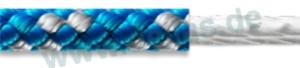 Streckertauwerk FSE DINGHY 8-Plaited Dinghy Ø: 6 mm blau-silber
