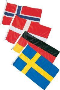 Gastlandflaggensatz  19 x 30 cm