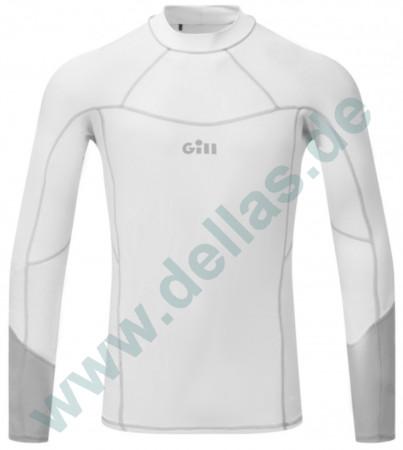Gill PRO RASH VEST Long Sleeve Men´s langärmlig Weiß / S