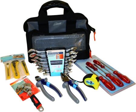 Werkzeugtasche inklusiv Werkzeug