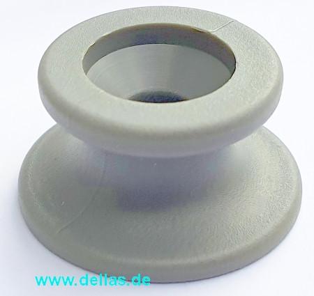 Sprayhoodknopf Persenningknopf Grau oder Weiß - 4 Stück/Packung