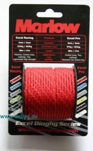 Marlow Exel Pro Minispulen 3 mm / Rot
