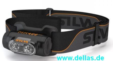 Silva wasserdichte Stirnlampe MR400RC mit AKKU